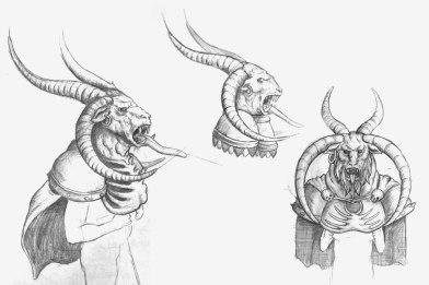 Bocetos iniciales