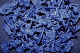 Copias en resina pigmentada