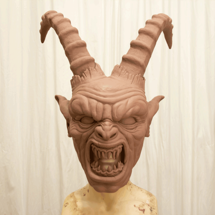 Modelado original en Monster Clay